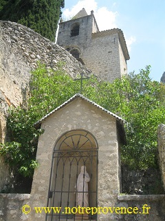 Chapelle ND de Bauvoir, Moustiers Sainte-Marie