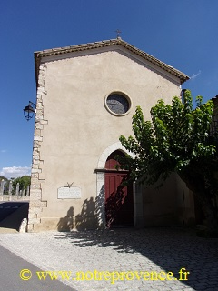 L'église de Saint-Laurent du Verdon